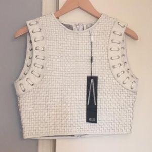 b9a9c3a6d61d9 Asilio Code of Practice leather vest S 4